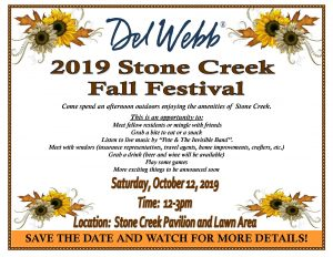Stone Creek Fall Festival Flyer